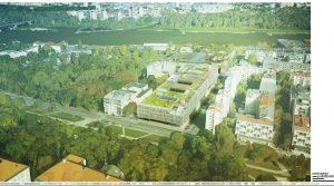widok od strony Pałacu Kazimierzowskiego